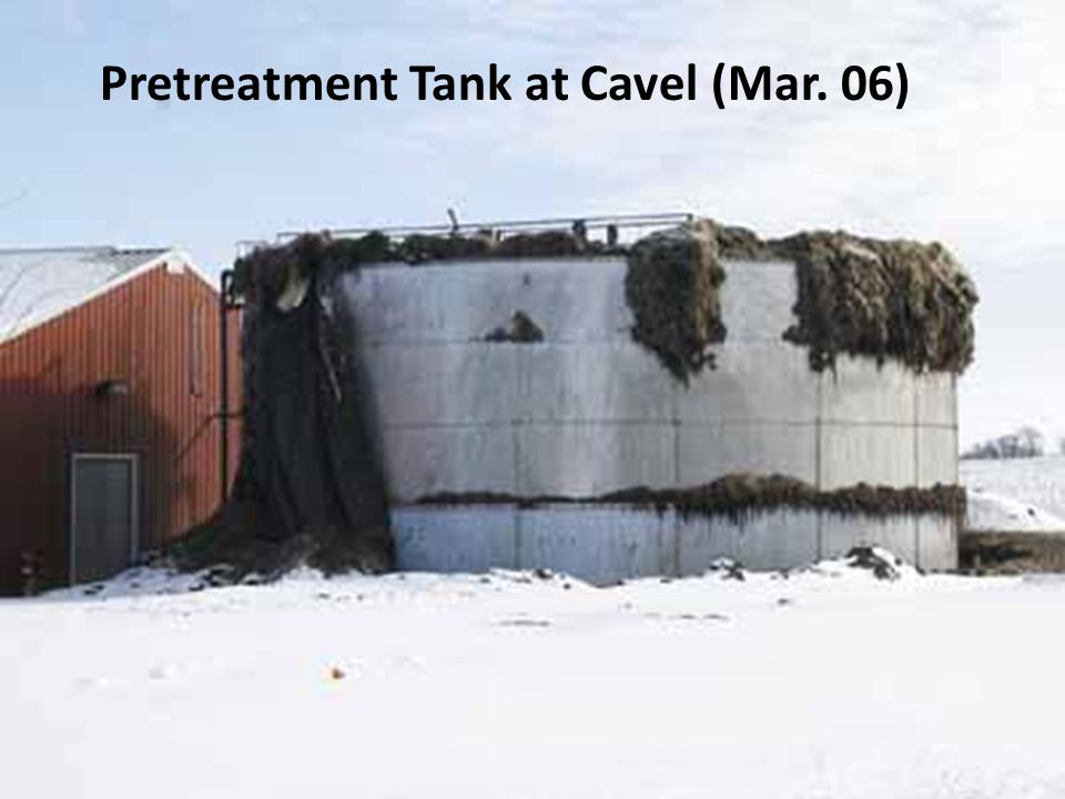 Pretreatment Tank at Cavel (Mar. 06)
