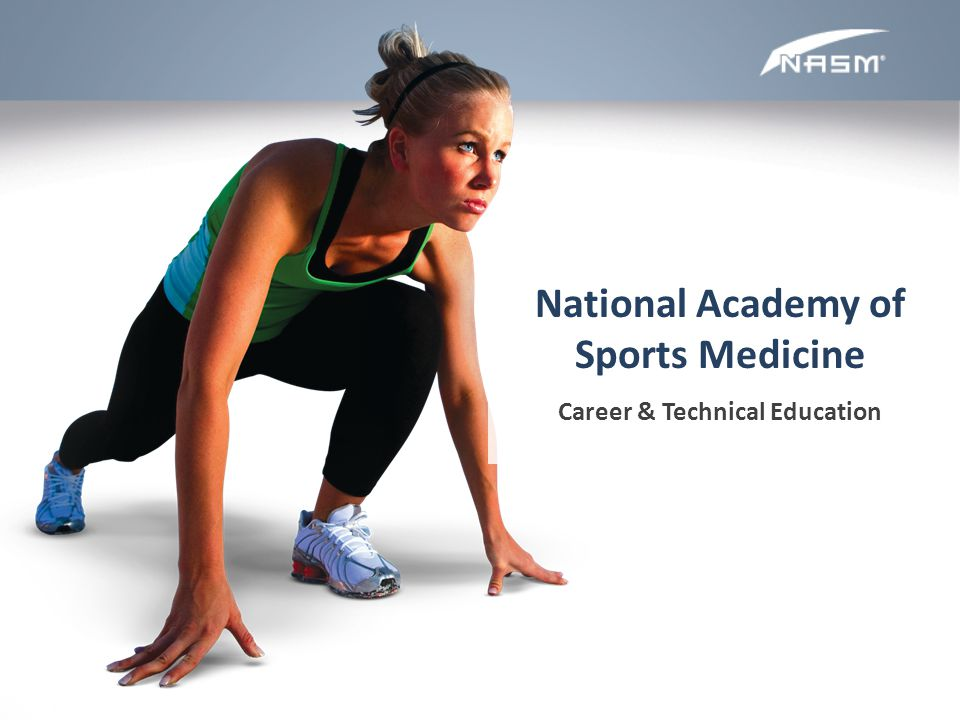 National Academy of Sports Medicine Career & Technical Education