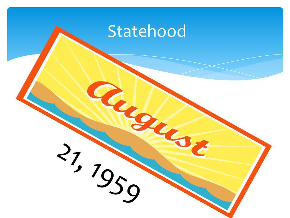 Statehood 21, 1959