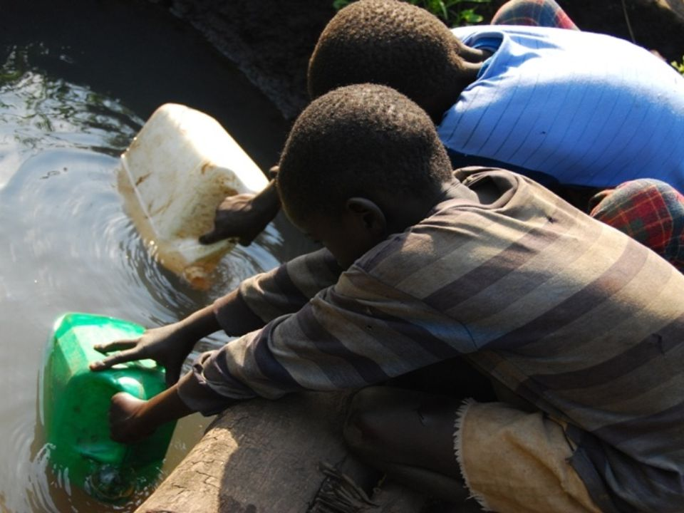 Fishing is one of the main occupations of people living by the lake Malawi.