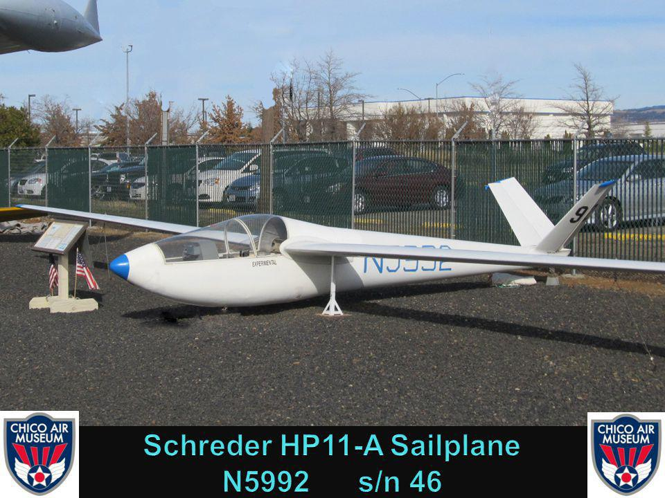 This sailplane was designed by Richard Schrader in 1963.