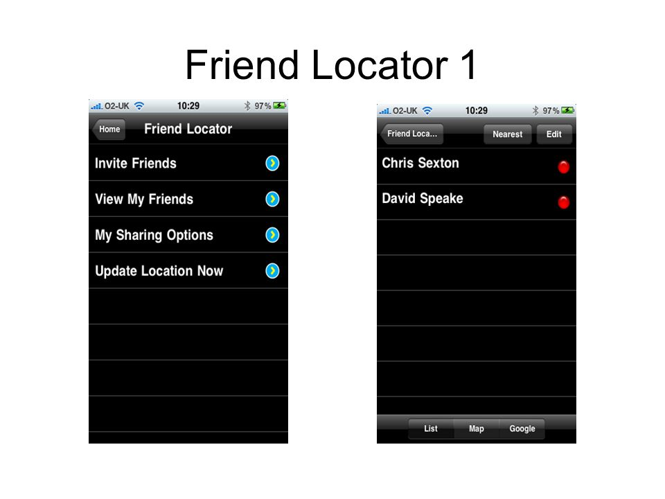 Friend Locator 1