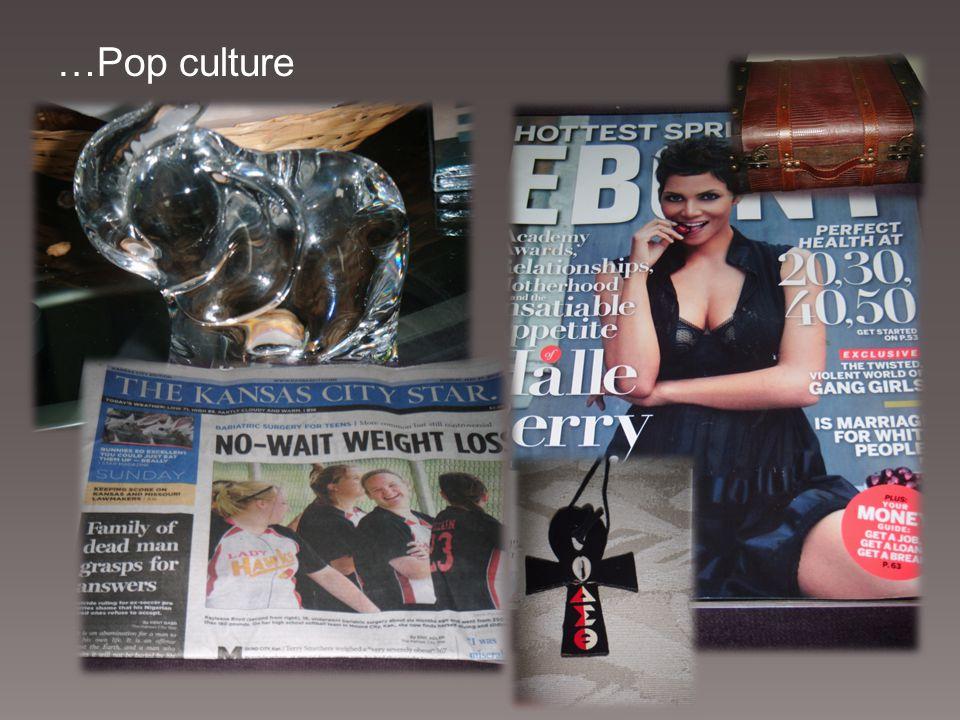 …Pop culture