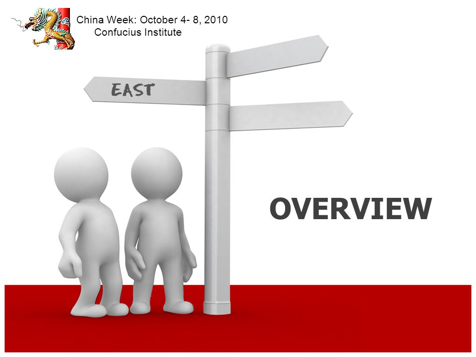 RESUME PREPARATION China Week: October 4- 8, 2010 Confucius Institute