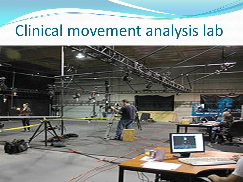 Clinical movement analysis lab