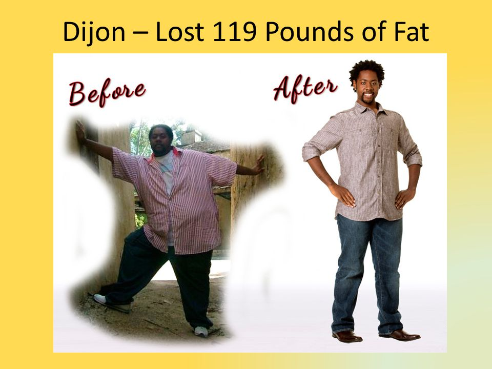 Dijon – Lost 119 Pounds of Fat