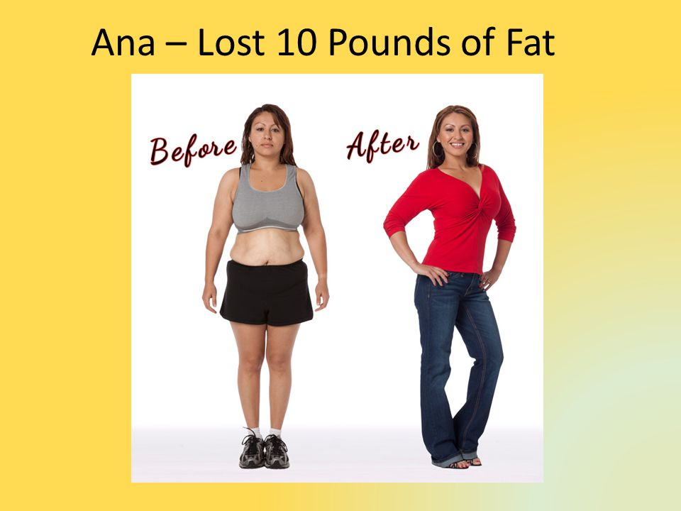 Ana – Lost 10 Pounds of Fat