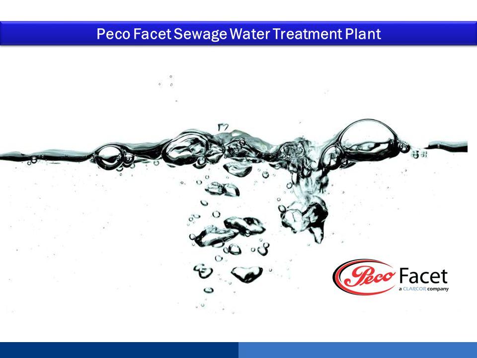 Peco Facet Sewage Water Treatment Plant