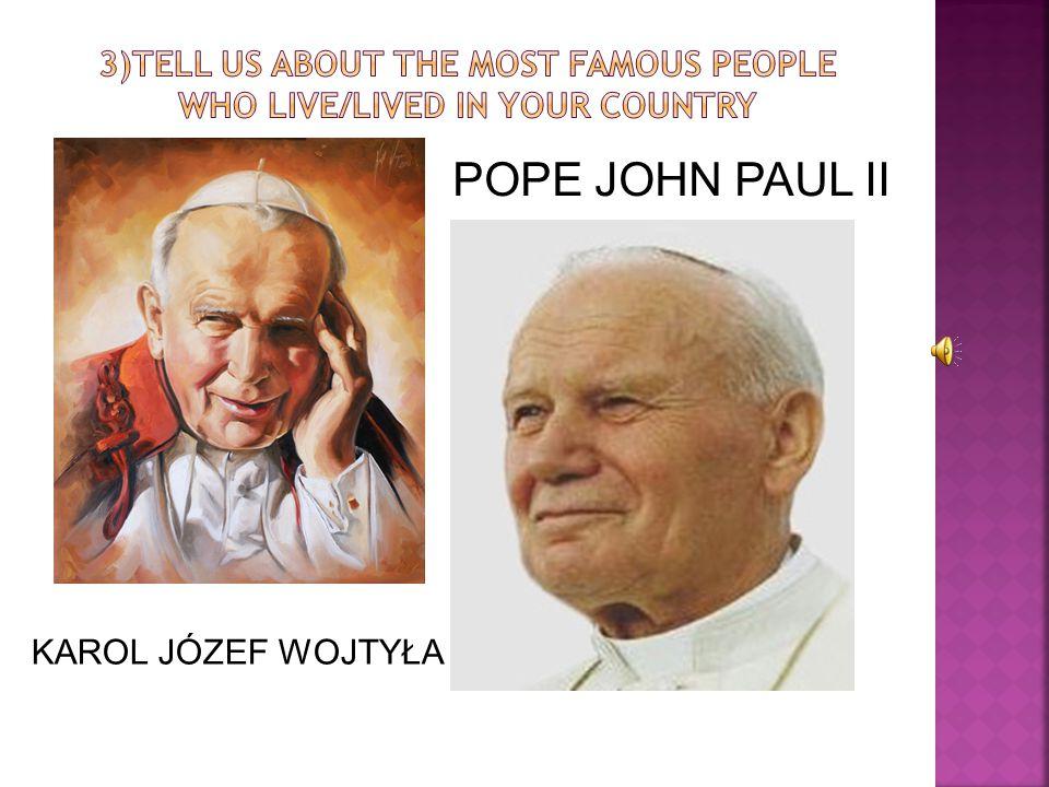POPE JOHN PAUL II KAROL JÓZEF WOJTYŁA