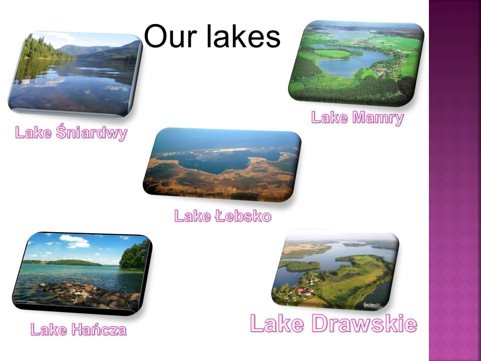 Our lakes