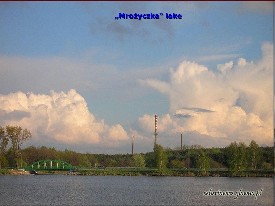 Mrożyczka lake Mrożyczka lake