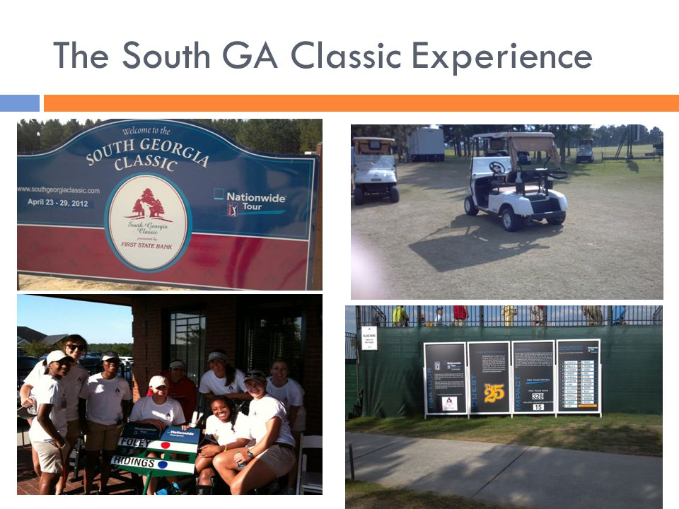 The South GA Classic Experience
