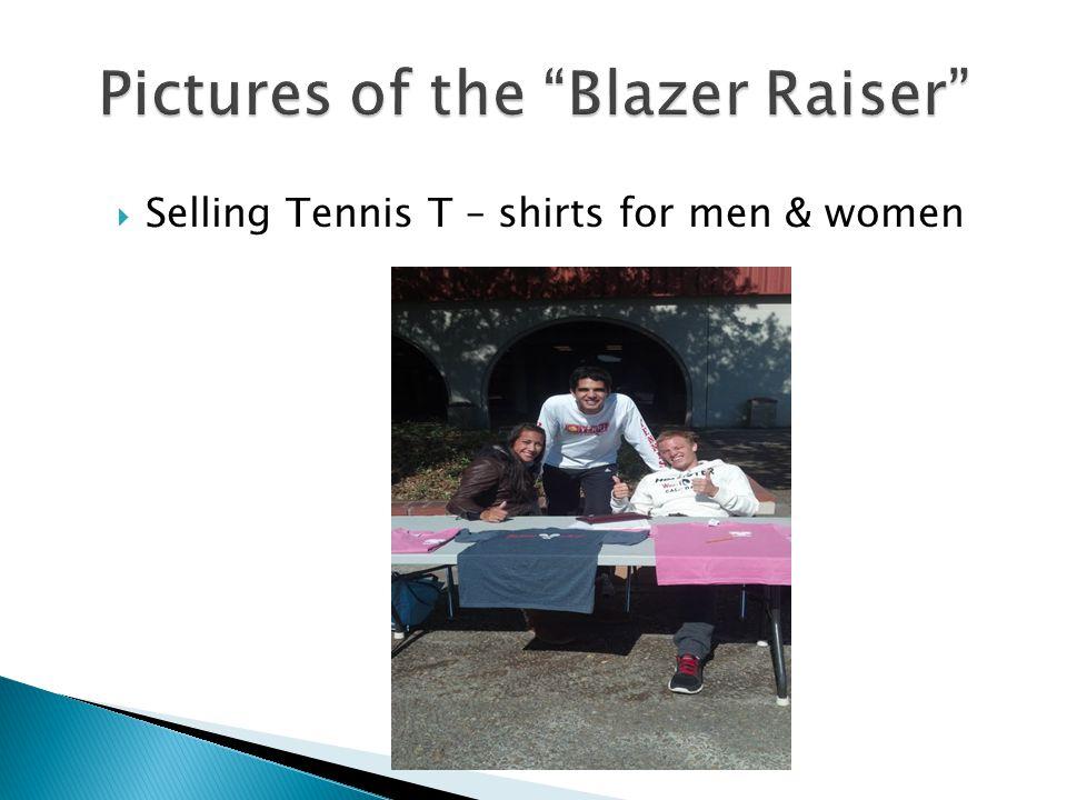 Selling Tennis T – shirts for men & women
