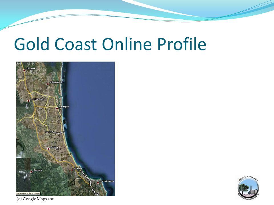 Gold Coast Online Profile 14 (c) Google Maps 2011