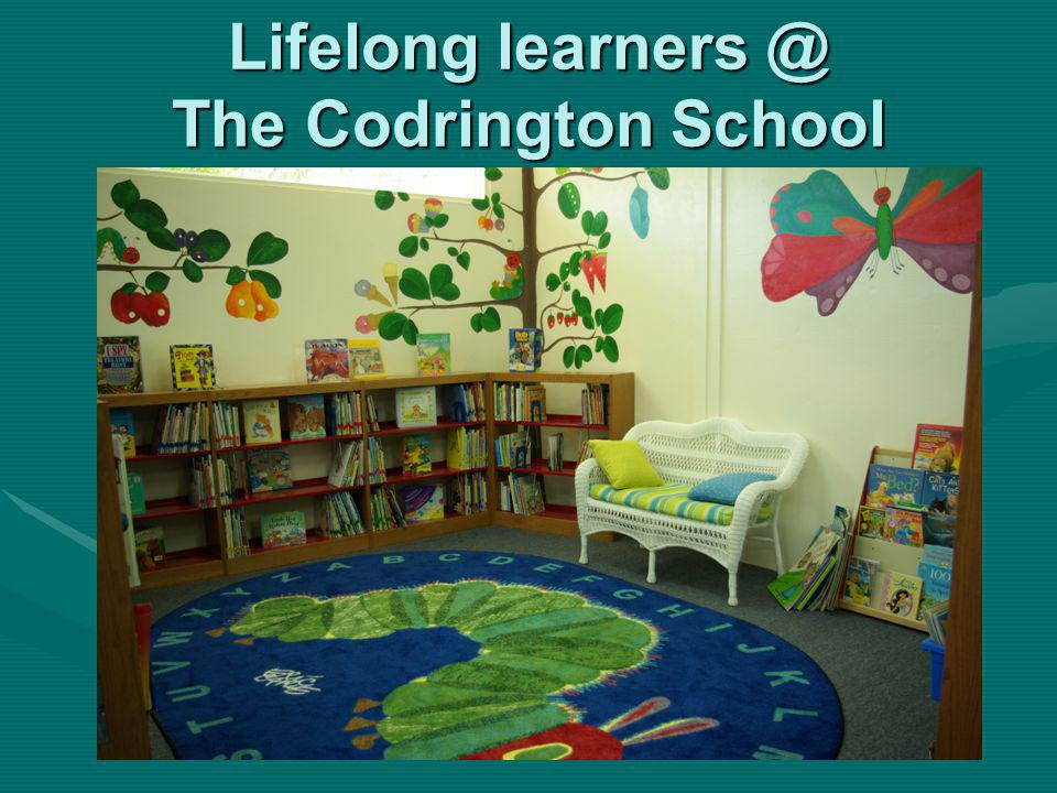 Lifelong learners @ The Codrington School