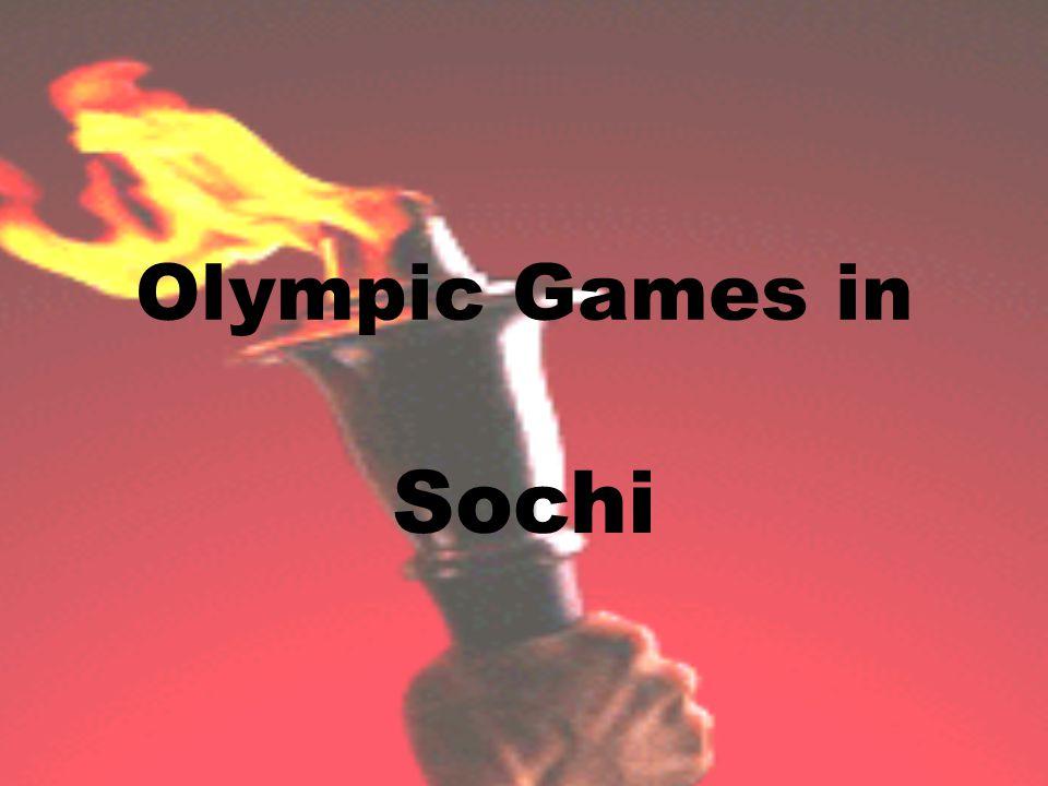 Olympic Games in Sochi