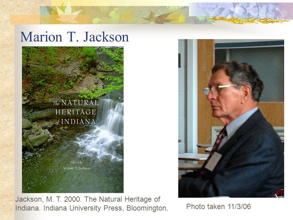 Marion T.Jackson Photo taken 11/3/06 Jackson, M. T.