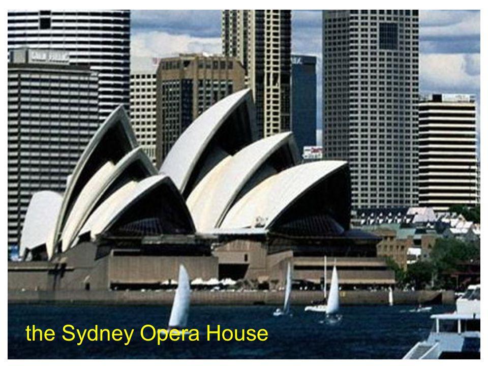 the Sydney Opera House