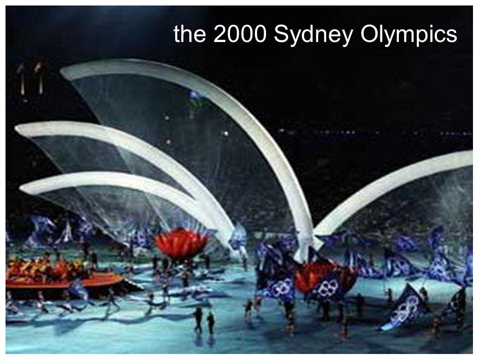 the 2000 Sydney Olympics
