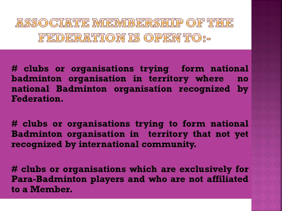 The Federation shall be governed by the: AGM OR EGM COUNCIL EXECUTIVE BOARD
