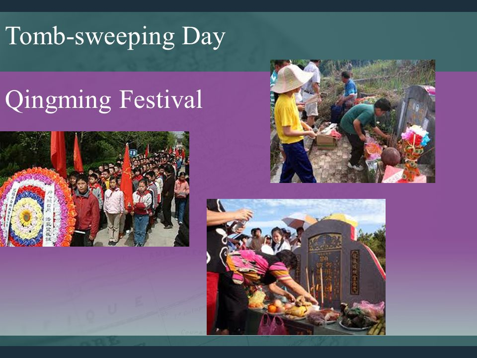 Tomb-sweeping Day Qingming Festival
