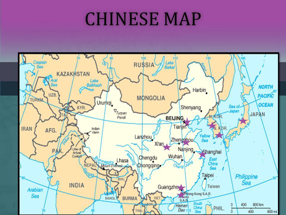 CHINESE MAPCHINESE MAP