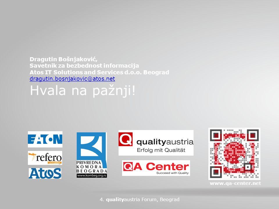 Dragutin Bošnjaković, Savetnik za bezbednost informacija Atos IT Solutions and Services d.o.o.