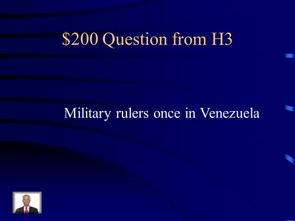 $100 Answer from H3 What is Brazil