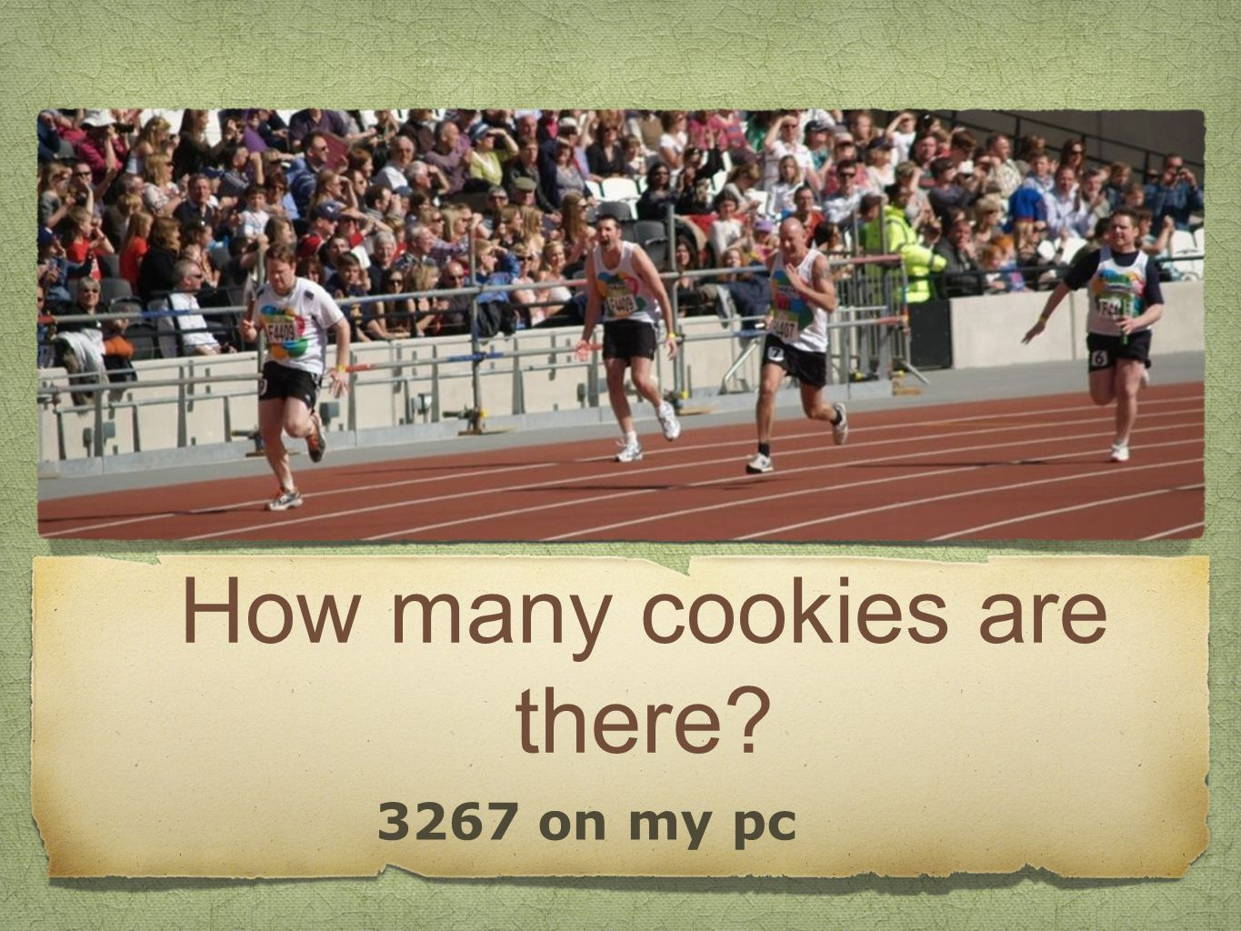 How many cookies are there 3267 on my pc