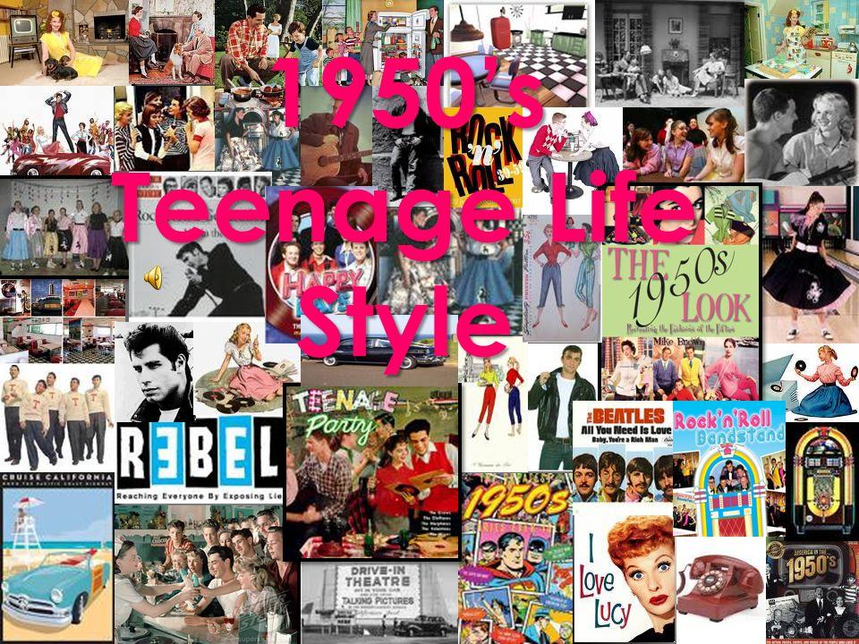 1950s Teenage Life Style