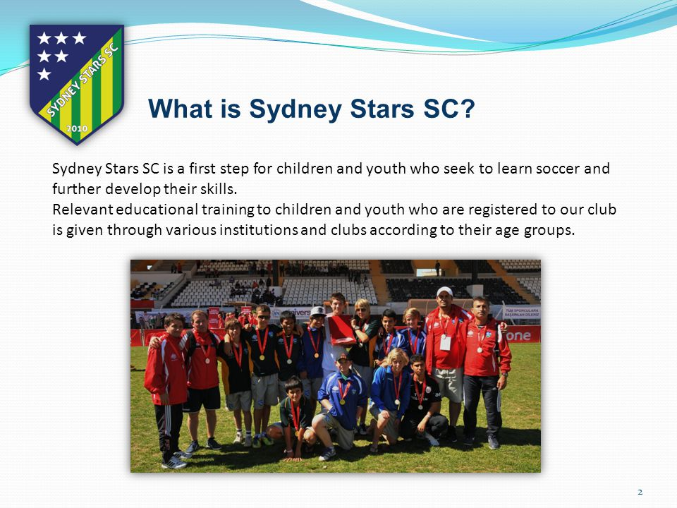 2 What is Sydney Stars SC.