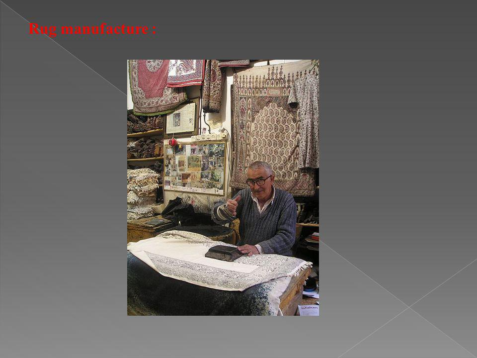 Rug manufacture :