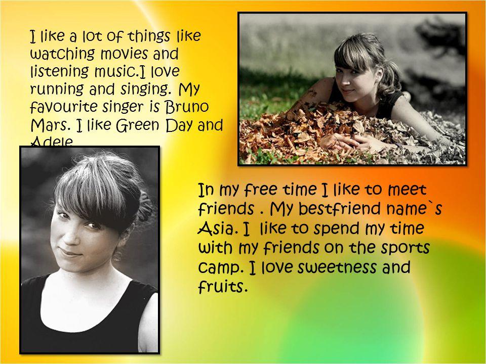 Hi.My names Monika Wójtowicz and Im fifteen. I live in Ryglice and go to school.