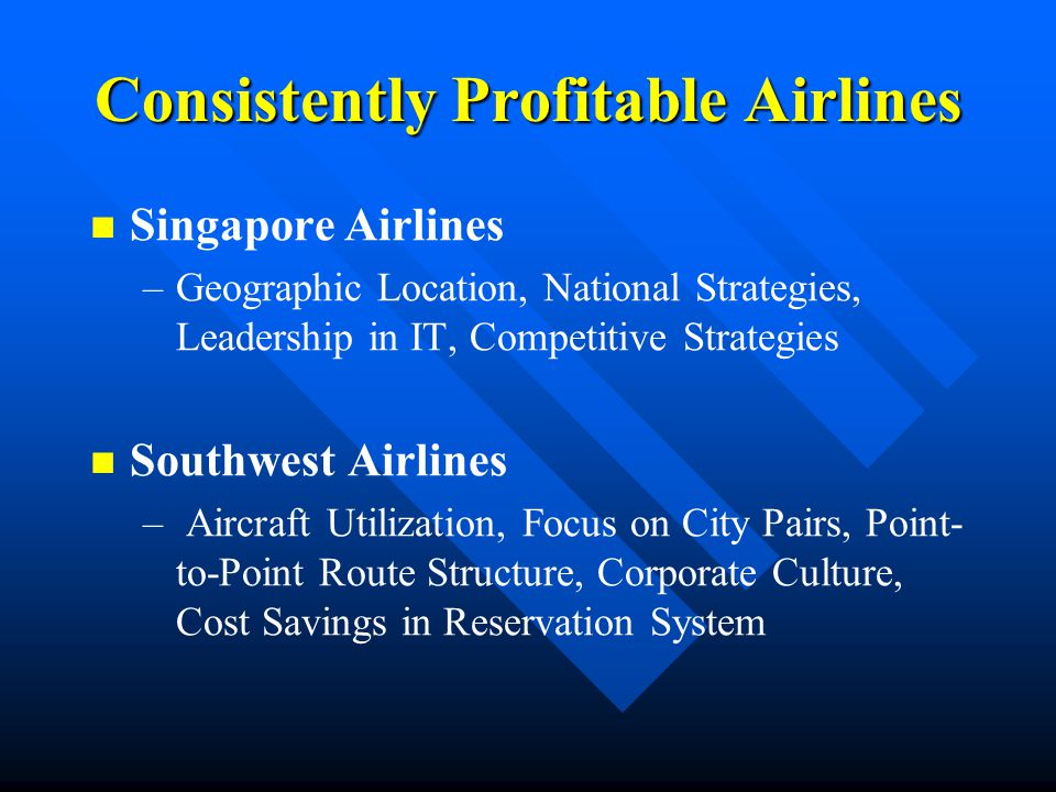 Airline Industry Goals Public Service.(Service to Customers) Public Service.
