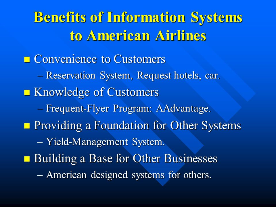 Airline Industry Conclusions It is a vivid example of the dynamics of the markets that it serves.