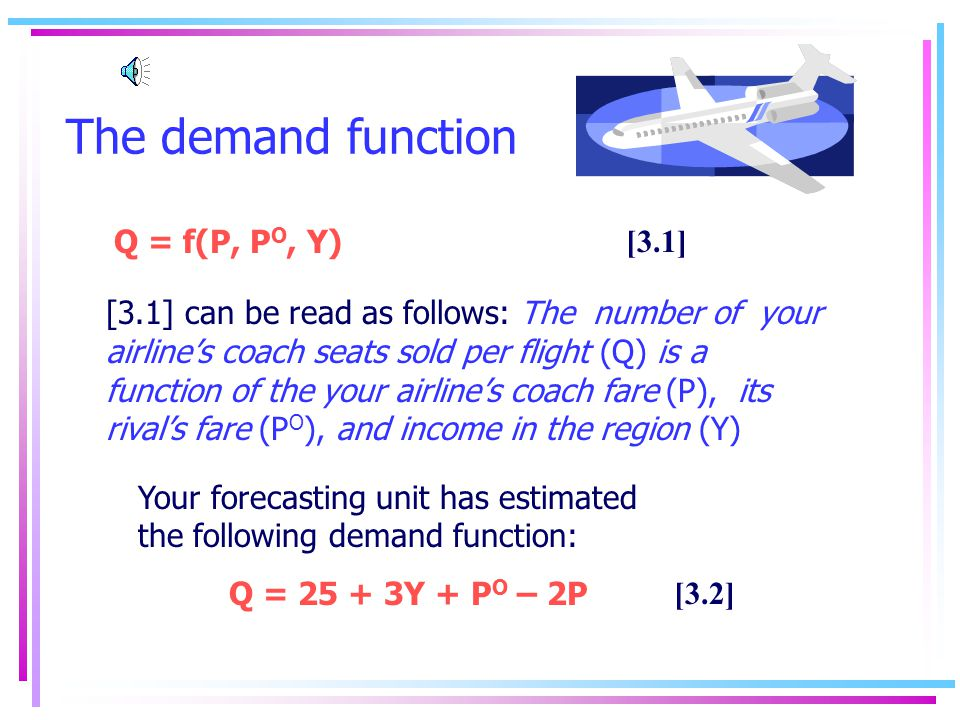 Example Price 0 Output P = 290 – Q/2 240 235 100110 Question: What is E P in the range of demand curve between fares of $240 to $235.