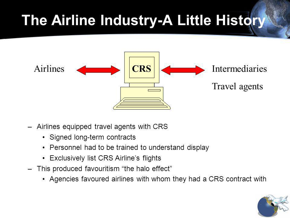 AirlinesIntermediaries Travel agents CRS Government orders to list other airlines - at a fee of course