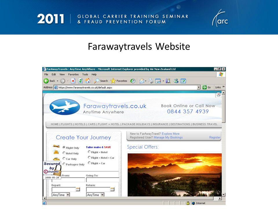 HOT OFF THE PRESS- Brand new website. Note the IATA Logo
