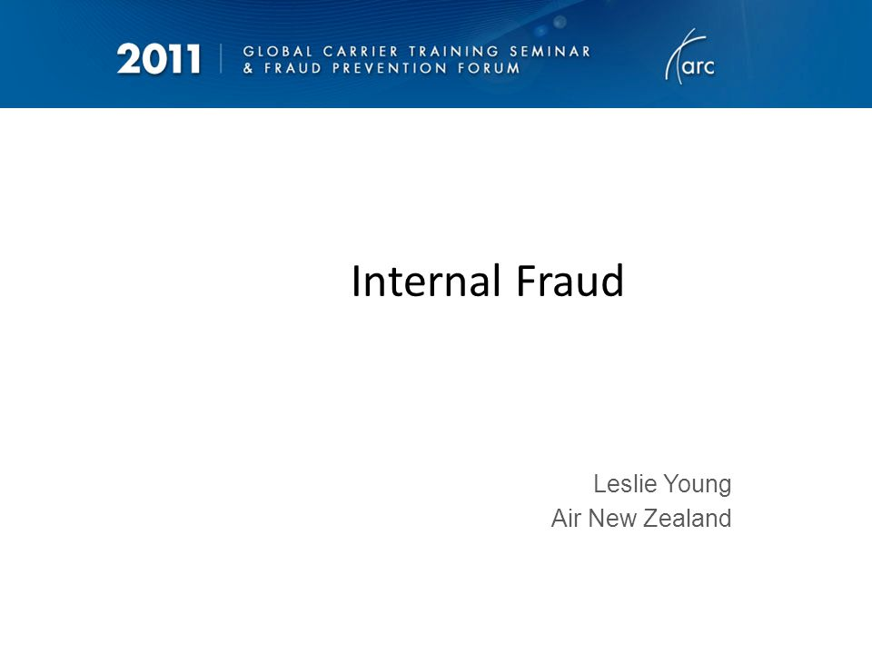 Internal Fraud – A Growing Problem Or has it always been there.