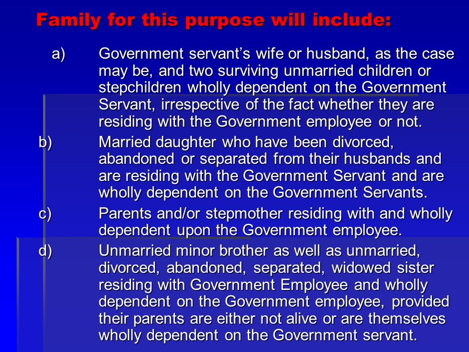 Clarification: (Family) The restriction of two surviving children shall not be applicable : The restriction of two surviving children shall not be applicable : 1)in respect of those employees who have already more than two children prior to 20.10.1997.