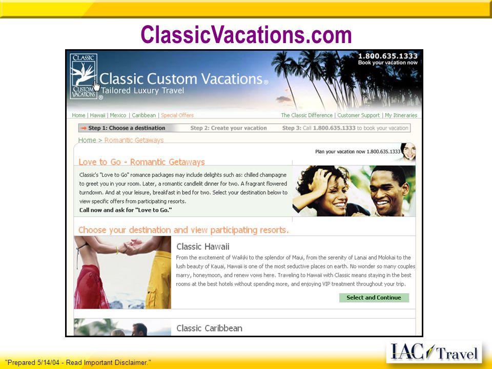 ClassicVacations.com