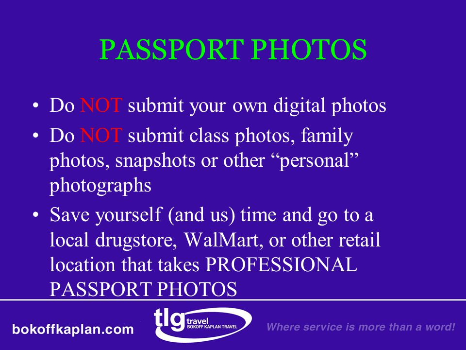 Do NOT submit your own digital photos Do NOT submit class photos, family photos, snapshots or other personal photographs Save yourself (and us) time a