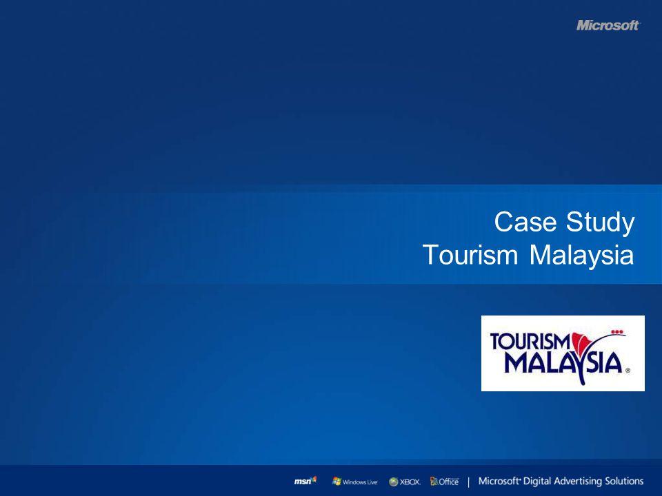 Case Study Tourism Malaysia