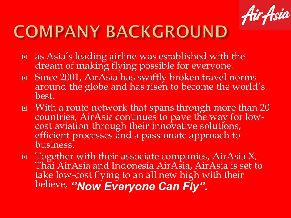 Dato Sri Anthony Francis Fernandes – founder CEO of AirAsia