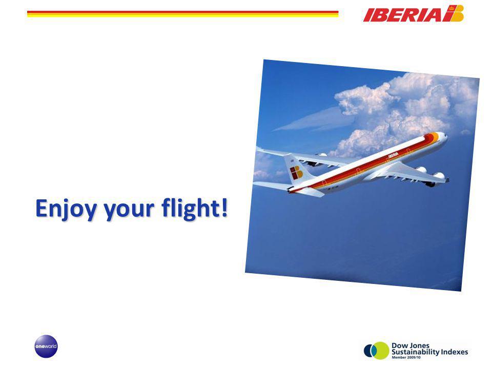 Enjoy your flight!
