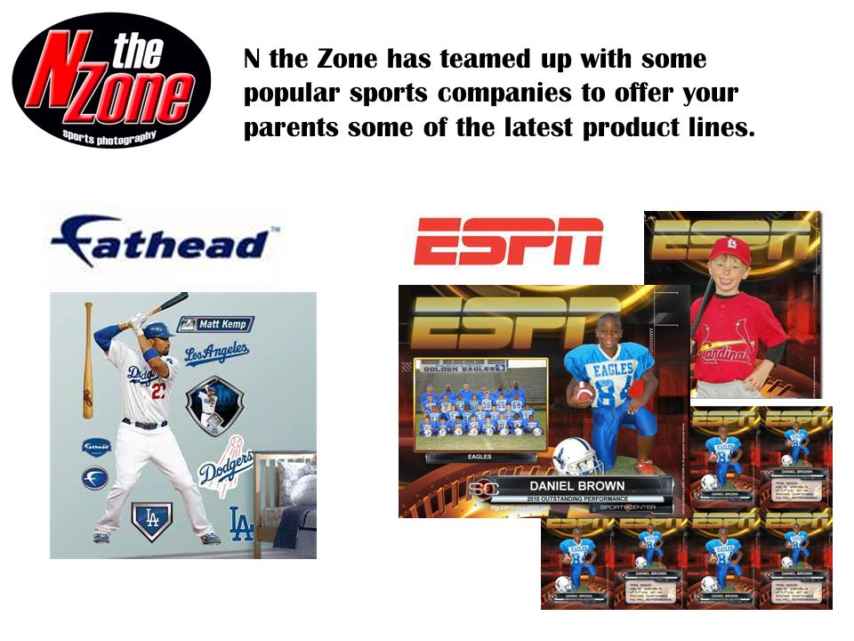 N the Zone adds new products each year!