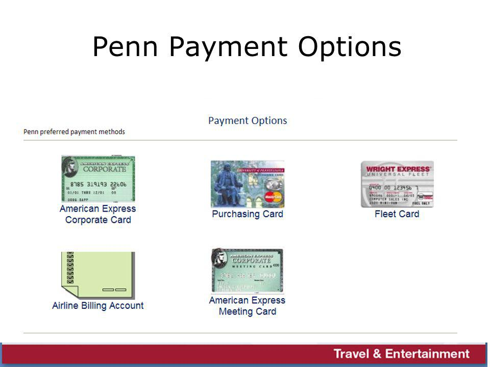 Penn Payment Options