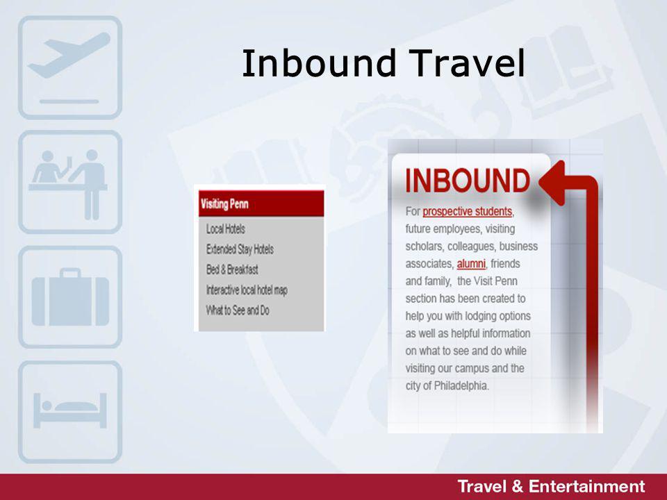 Inbound Travel