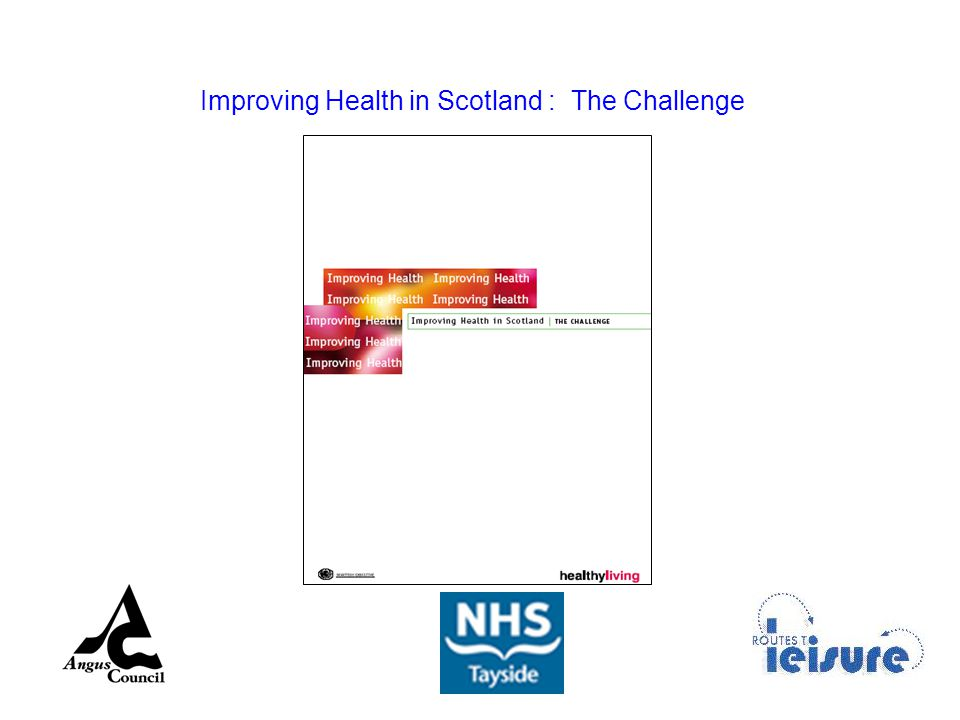 Improving Health in Scotland : The Challenge