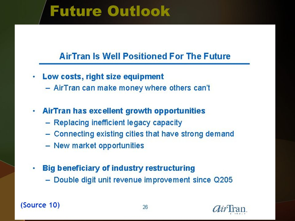 Future Outlook (Source 10)